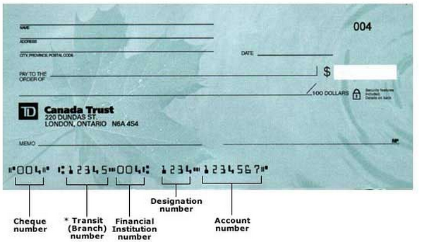 Cheque Sample